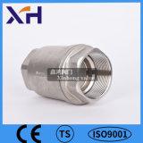 Valvola di ritenuta verticale dell'acciaio inossidabile 304 Dn32 1-1/4 ''