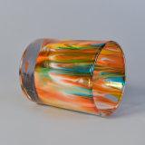 Regenbogen-Glaskerze-Halter