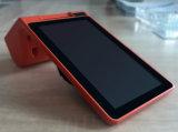 Zkc900 Dual tela que requisita a posição em linha com a impressora de Scnaner do código de barras de 3G WiFi Bluetooth NFC