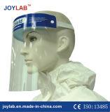 PVC 얼굴 방패를 가진 의학 가면