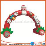 Popular de alta calidad baratos arco inflable Navidad