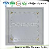 Los materiales de construcción Panel de aluminio de Recubrimiento de rodillos de impresión de techo con ISO9001