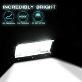 Tri-Rangée imperméable à l'eau approuvée DEL de RoHS de la CE pilotant la barre de l'éclairage LED 72W pour le chariot élévateur d'ATV