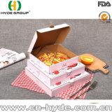De e-Fluit van Kraftpapier van de Rang van het voedsel de Doos van de Pizza van het Karton van Kraftpapier