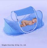 Rete di zanzara pieghevole portatile della base dei prodotti del bambino con il fornitore portatile del cinese di figura di Yurt della casa della chiusura lampo