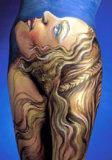 Dibujo de la seda - Virgen