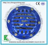 Válvula de aspiração Ductile do ferro de molde da extremidade da flange (H42)