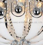 Стильные потолочные светильники из стекла