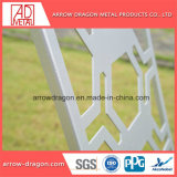 Corte a Laser Chapas perfuradas de alumínio PVDF varanda/ Corrimão da escada/ Balaustrada Painéis Infill