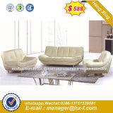 Sala de Estar com Novo Design pernas de metal sofá de couro (HX-8N2236)