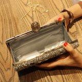 Femmes en pierre en cristal fabriqués à la main de mode de la Chine même le sac d'embrayage