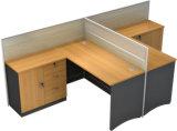 사무용 가구 새로운 디자인 4 사람 사무실 테이블 컴퓨터 워크 스테이션