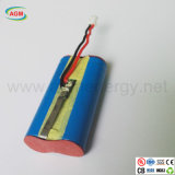 Icr14500 1s2p 3.7V 1600mAhのリチウムイオン電池
