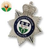 Het aangepaste Zachte Kenteken Van uitstekende kwaliteit van de Politie van het Metaal van het Email (xdbgs-317)