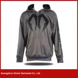 2017新しいデザイン厚い綿織物冬(T213)の人のための360のGSMのよじ登る方法Hoody
