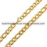 Collana cubana della catena a maglia del bordo dei monili dell'acciaio inossidabile