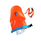 Saco seco inflável da bóia segura do nadador