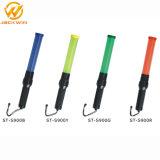 Alto bastón los 41cm recargable visible del control de tráfico del aeropuerto LED con los clips