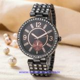 De Polshorloges van de Manier van het Horloge van het Kwarts van het Embleem van de douane voor de Dames van Mensen (wy-17004A)