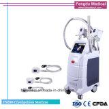 4 poignées Coolsculpting Cryolipolysis Fat gel avec approbation CE de la machine