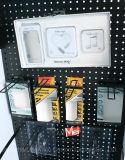 주문을 받아서 만들어진 로고 직업적인 현대 금속 셀룰라 전화 부속 진열대 선반