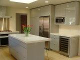 De Prima da cozinha da mobília da madeira contínua do bordo gabinete 2018 de cozinha americano