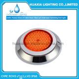 Lampe sous-marine chaude de piscine de lumière de syndicat de prix ferme du blanc DEL de l'acier inoxydable 12V RVB