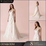 Populärer Verkaufs-saudi-arabisches Hochzeits-Kleid hergestellt in China