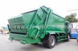 Дешевая тележка обжатия отброса Dongfeng 4X2 10m3 цены
