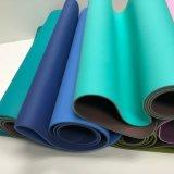 Doppie stuoie di ginnastica di forma fisica di yoga del TPE di formato