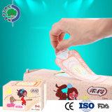 Meilleure serviette hygiénique de femmes personnalisée par marque de bonne qualité des prix de coton