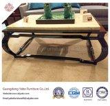 Chinesische Art-Hotel-Möbel mit Vorhalle-Marmor-Kaffeetische (YB-D-25-1)