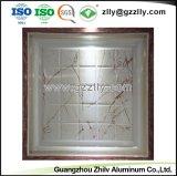 Los materiales de construcción de la Junta de techo de aluminio de Recubrimiento de rodillos Panel del techo de impresión