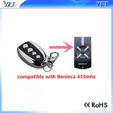 Télécommande RF Compatible Beninca 433