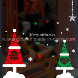 Le vinyle statique s'attachent des collants d'étiquettes, collant de décoration de Noël