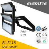 Luz de aluminio del proyector de la luz de inundación de la cubierta 1000W LED de IP65 Ik08 LED