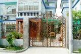 Cancello decorativo del ferro saldato di obbligazione esterna della residenza