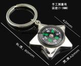 Compás caliente Keychain del metal del producto de la venta para la dimensión de una variable de la estrella de los regalos
