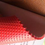 Vrij van Phthalate het VinylLeer van pvc voor de Voetbal van het Basketbal van de Ballen van het Stuk speelgoed