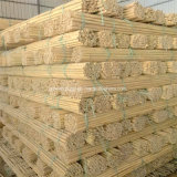 Bastones de bambú de la rota recta seca de la naturaleza para la venta