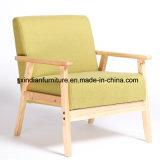 كرسي تثبيت وحيدة مريحة ليّنة [نورديك] خشبيّ