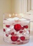 Vaso de flores de acrílico decorativo para decoração de casamento em casa