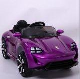 장난감 차 아이 장난감 전차에 차 전기 탐이 운영한 건전지에 의하여 농담을 한다