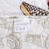 海洋様式の極度の柔らかい綿カバーホテルのパッチワークのベッドのキルト