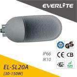 Réverbère en aluminium du réverbère d'IP65 DEL 30W 50W 100W 150W 180W DEL