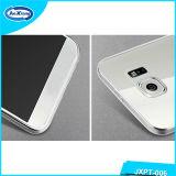 Couverture ultra mince de cas de téléphone cellulaire de Cleartpu pour Samsung S6