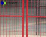 Revestimento a pó vermelho Zoneamento de Malha de Arame Portátil