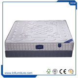 熱い販売のベッドパッドの高貴で贅沢なメモリ泡のゲルの乳液のPlamのファイバーのマットレス