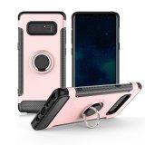 Couverture mobile hybride de couche de Kistand de caisse duelle de téléphone pour la note 8 de galaxie de Samsung