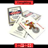 Coreia Import Cartões de jogo pretos dedicados do póquer do papel de núcleo do póquer de /Casino (YM-PC07)